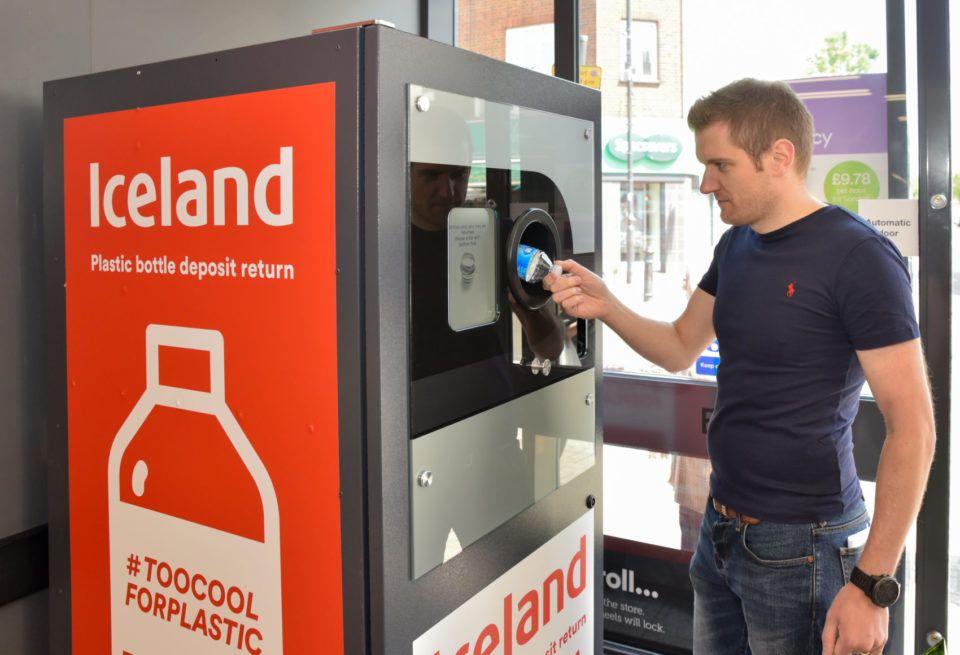 Iceland Foods Branded Reverse Vending Machine