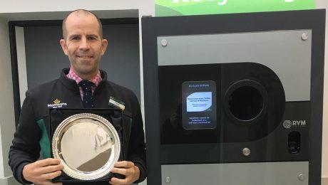 Reverse Vending Award Morrisons Wood Green