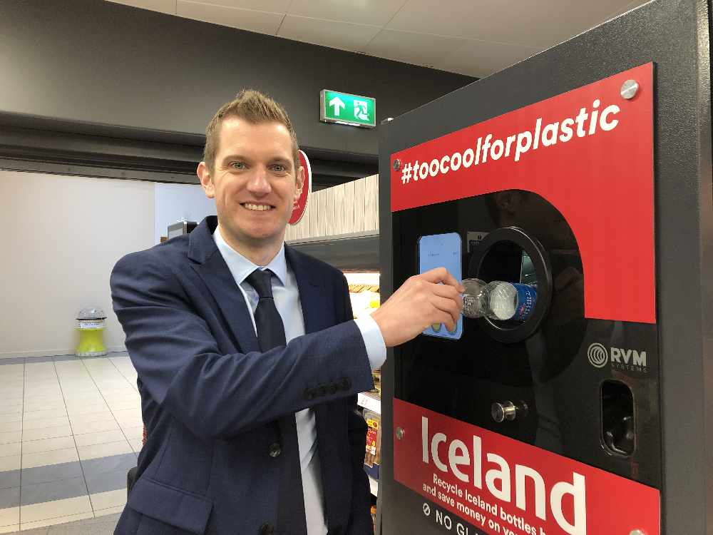 First Reverse Vending in Belfast