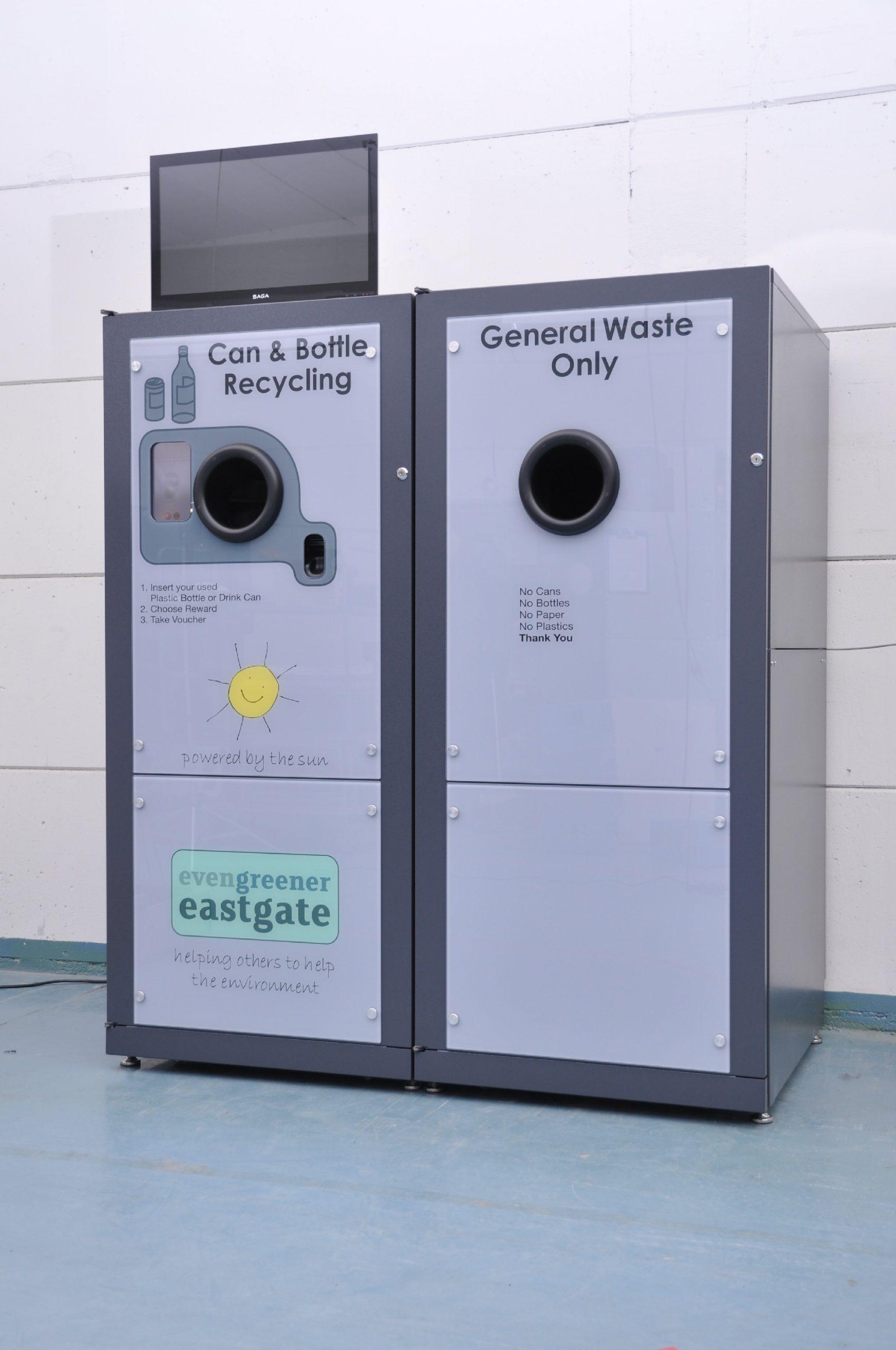 RVM Systems Eastgate Shopping Centre Basildon