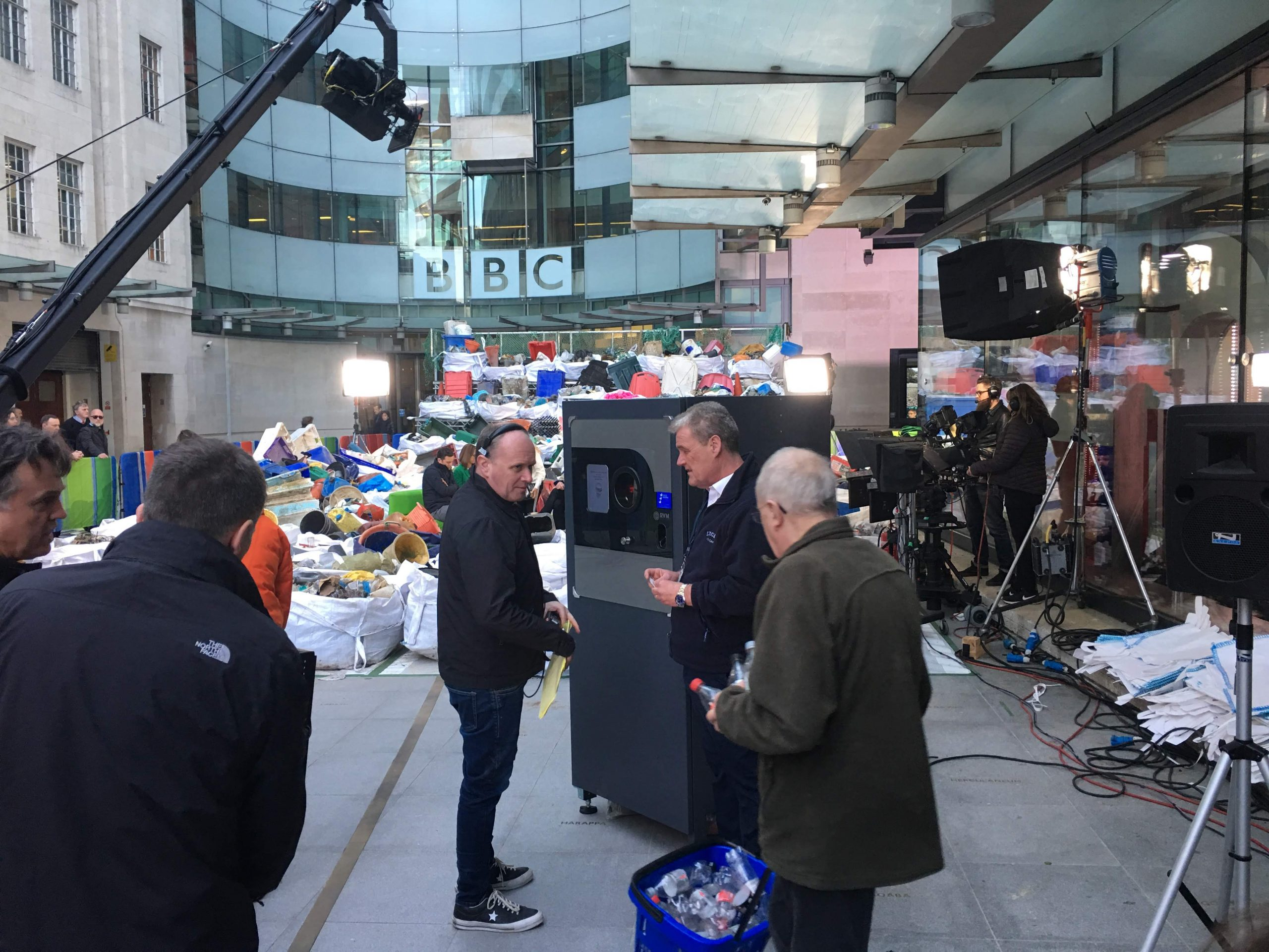BBC The One Show 16th April 2018 Reverse Vending RVM Systems featured