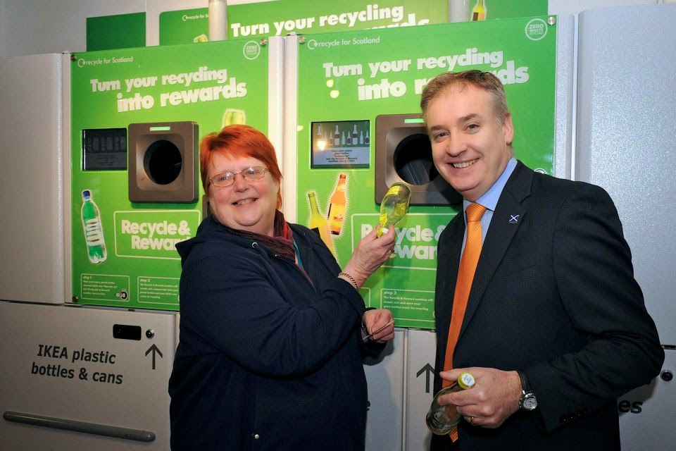 21st February 2013 Environmental Minister Richard Lochhead said he hopes the scheme will encourage more recycling