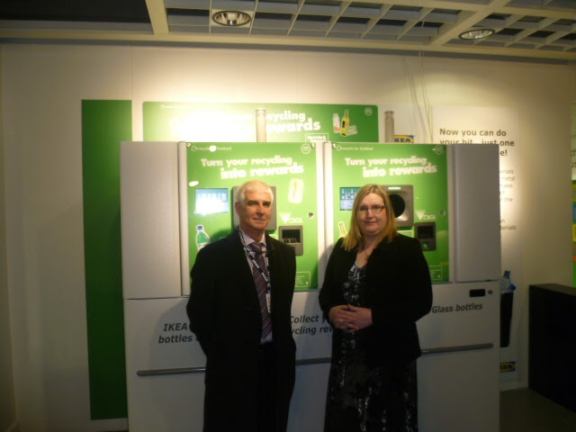 Reverse Vending opening with Enviromentor's Director, Marion Croy