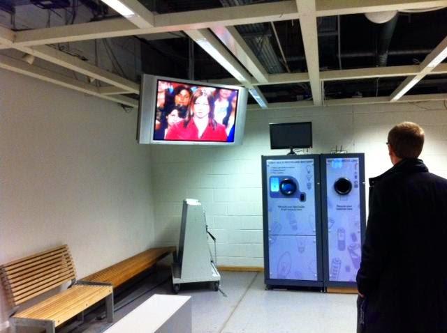 Gudmund IKEA Wembley London 2011 Light Bulb Reverse Vending Machine