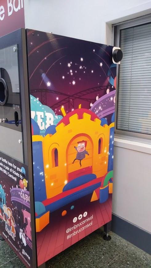 IRNBRU Branded Reverse Vending Machine
