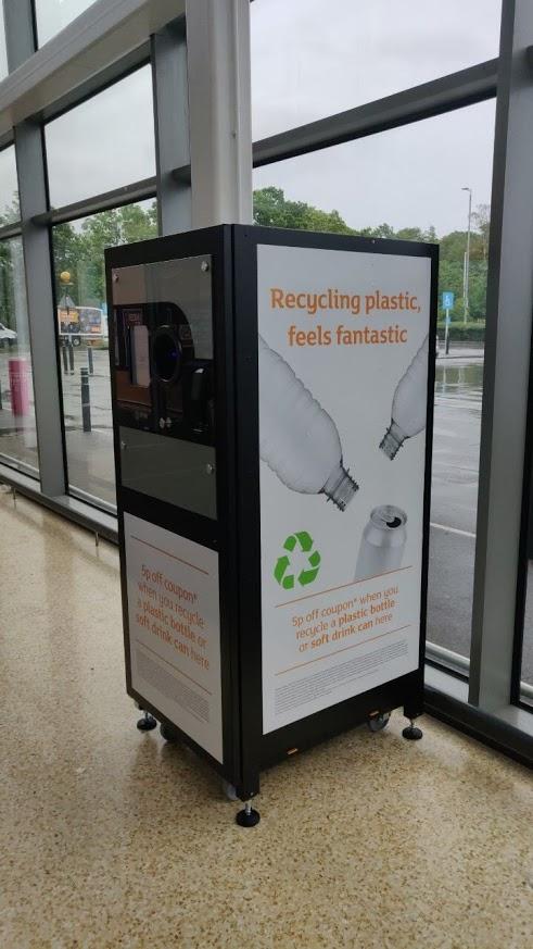 Sainsbury's Branded Reverse Vending Machine