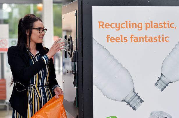 Sainsbury's has launched a Reverse Vending Recycling trial at its Lincoln Superstore