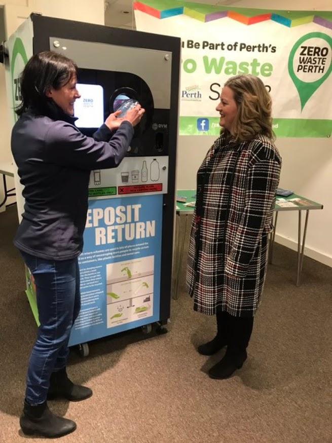 Zero Waste Perth Deposit Return demonstration