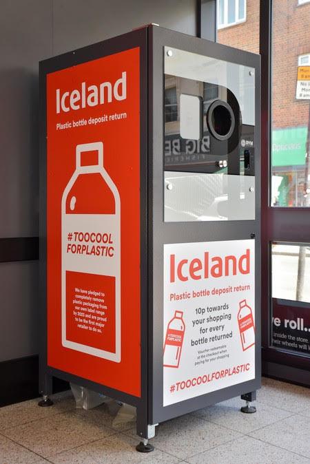Iceland Foods Fulham London