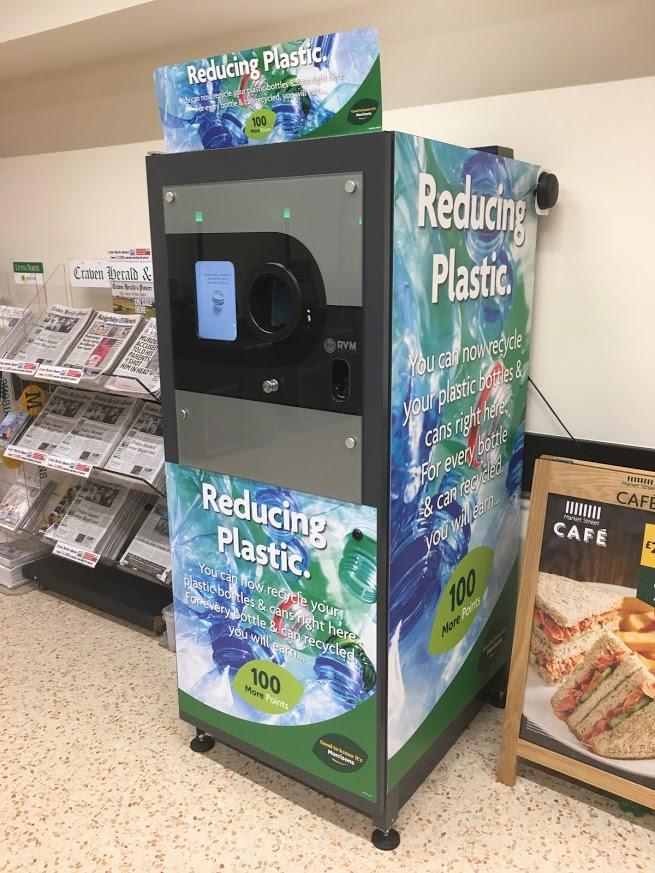 Morrisons Branded Reverse Vending Machine