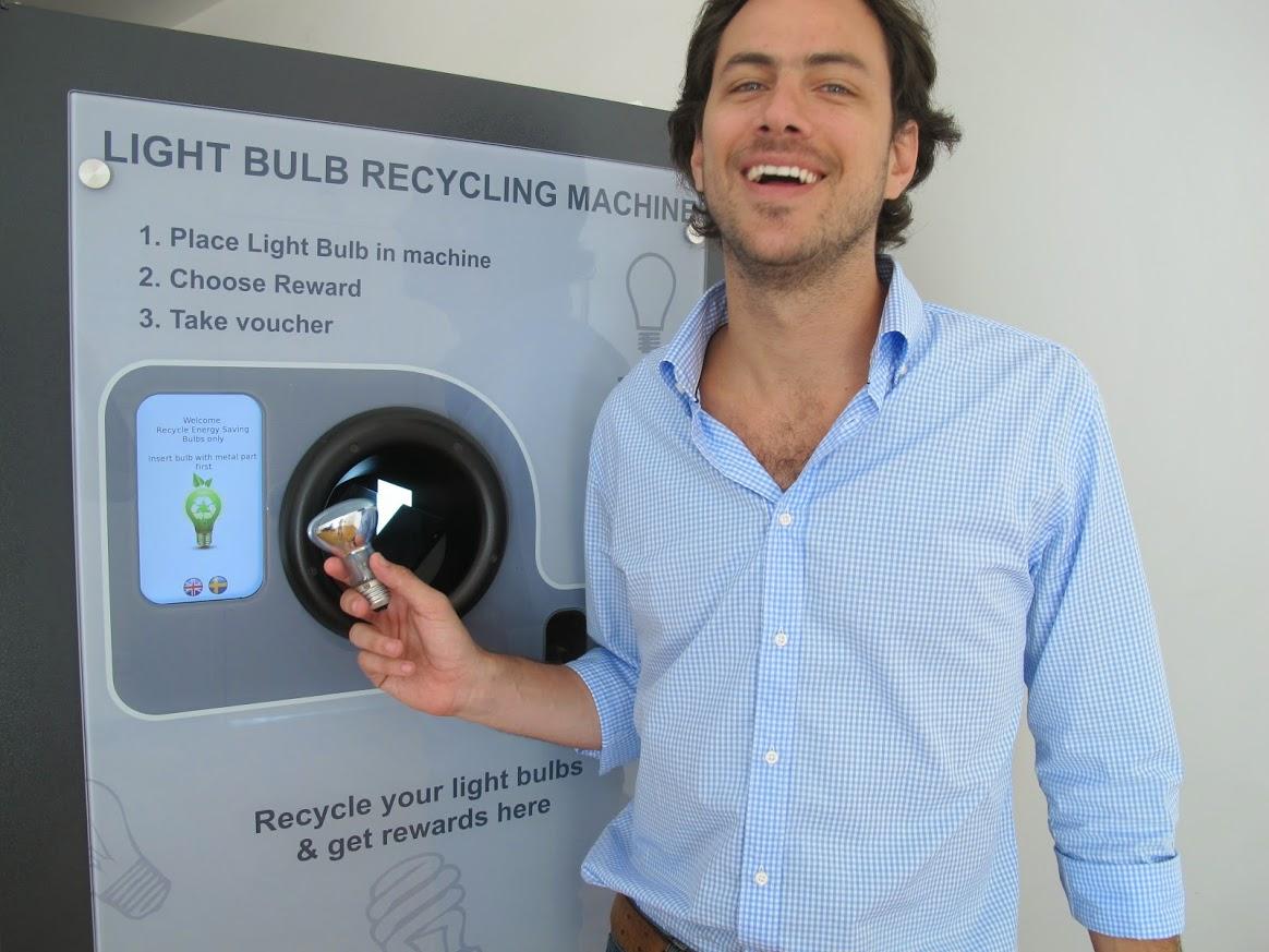 April 2013 reVend Light Bulb Reverse Vending Brazil