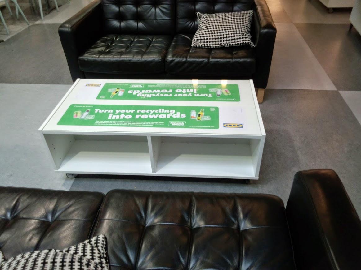 2013 Zero Waste Scotland funded Recycle and Reward Deposit Return pilot at IKEA