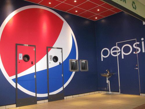 Pepsi branded reverse vending machines