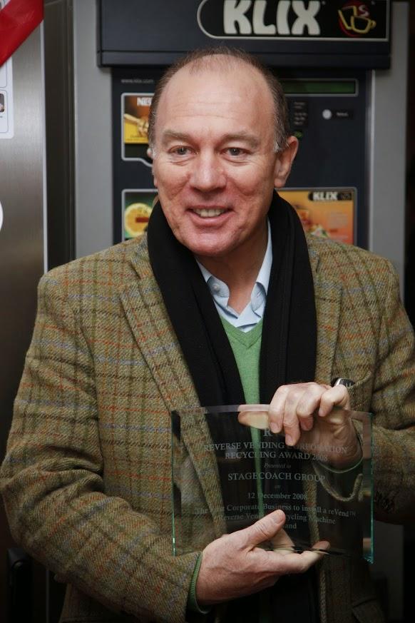 First Reverse Vending Machine in Scotland