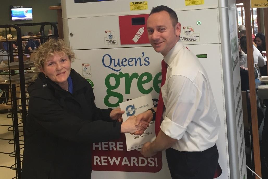 Sodexo Reverse Vending Award Romford Essex