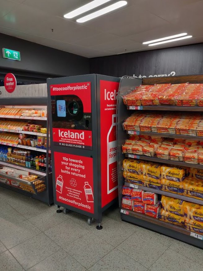 Iceland Foods Branded Reverse Vending Machine
