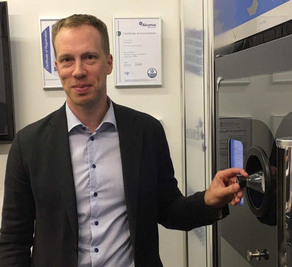 NIKLAS ENGSTRÖM CEO RVM Systems