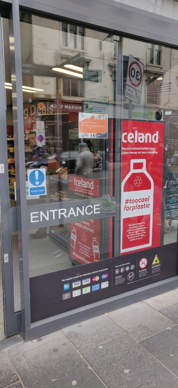 Iceland Foods Glasgow Store