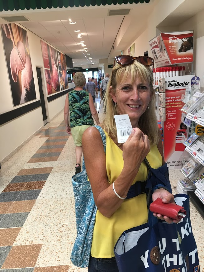 July 5th 2018 Reverse Vending at Morrisons Skipton Yorkshire