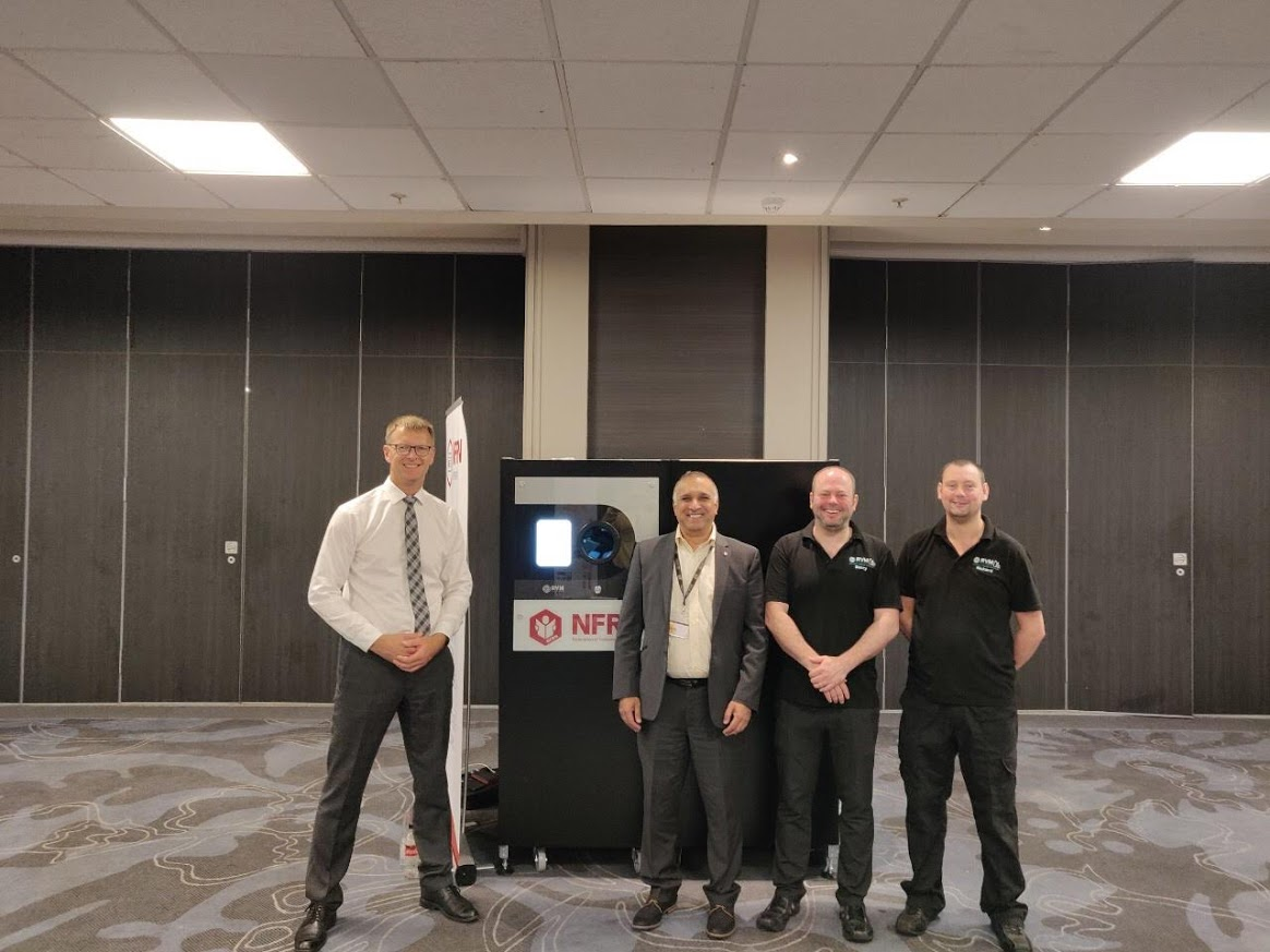 First Supermarket in the UK to install 'All in' reverse vending machine! Mo Razzaq has installed a new reverse vending machine (RVM) which accepts glass, as-well as PET plastic bottles and drinks cans, in his Supermarket in Blantyre, Scotland.