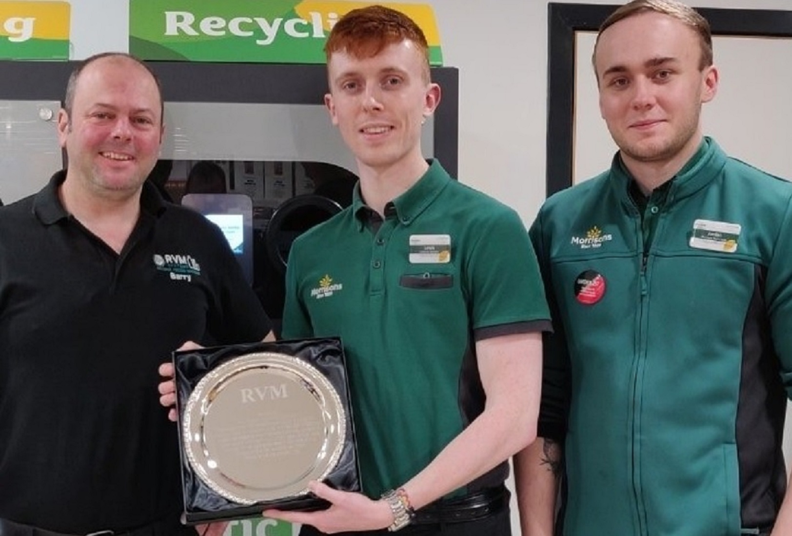 2 Million used drink containers recycled at one store in Scotland!