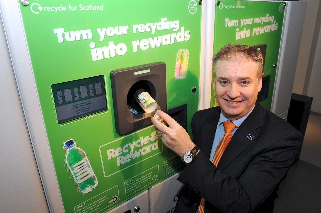 21st February 2013 the opening of Scotland's first Zero Waste Scotland funded DRS pilot