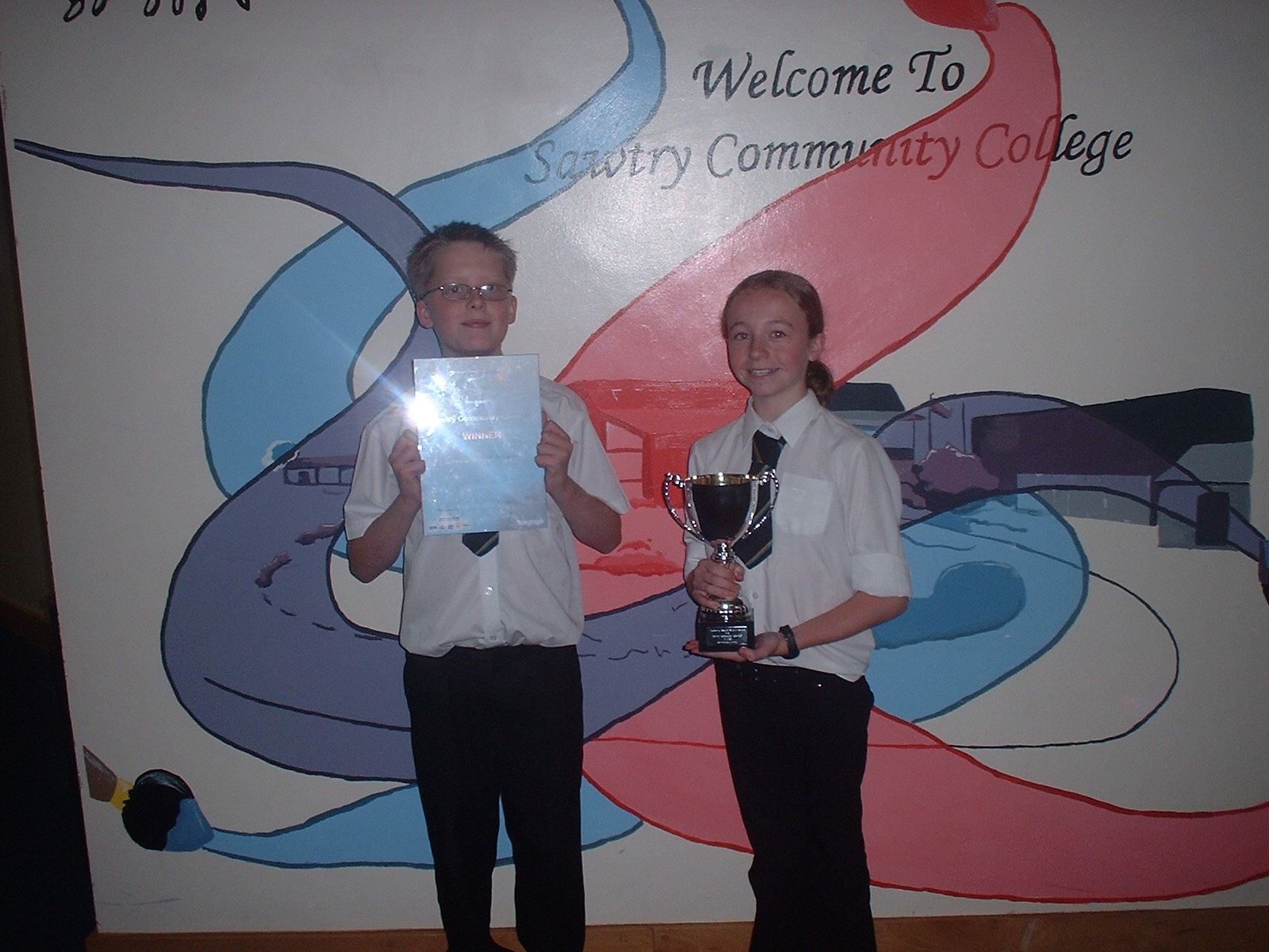 Sawtry Community College Reverse Vending Award