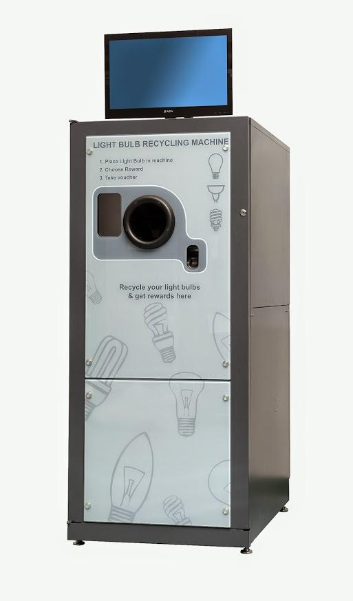 Reverse Vending Machine for lightbulbs